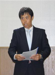 代表取締役 井口の報告